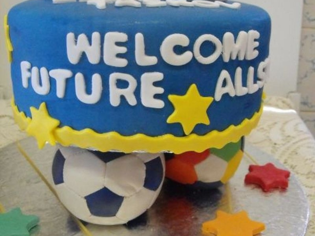d6144c0b4d409 All Star Baby Shower Cake - CakeCentral.com