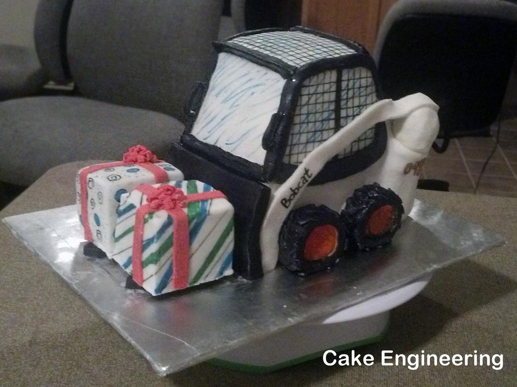 Bobcat Skid Loader Cake CakeCentralcom