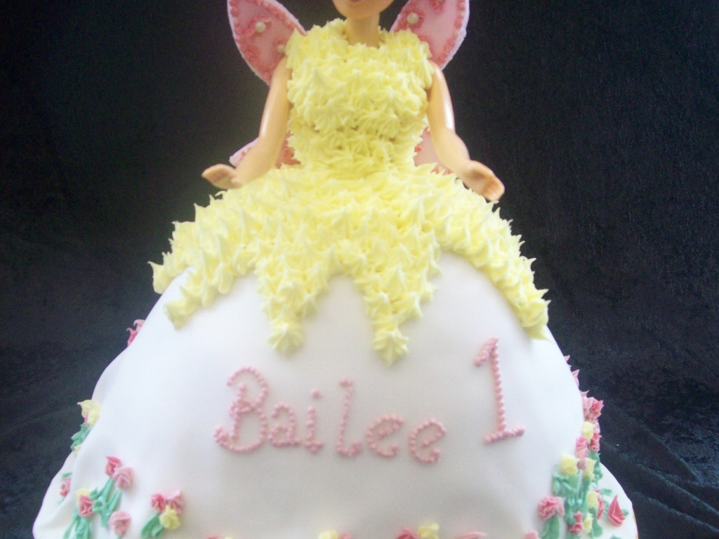 Fairy Princess Angel Cake Cakecentral