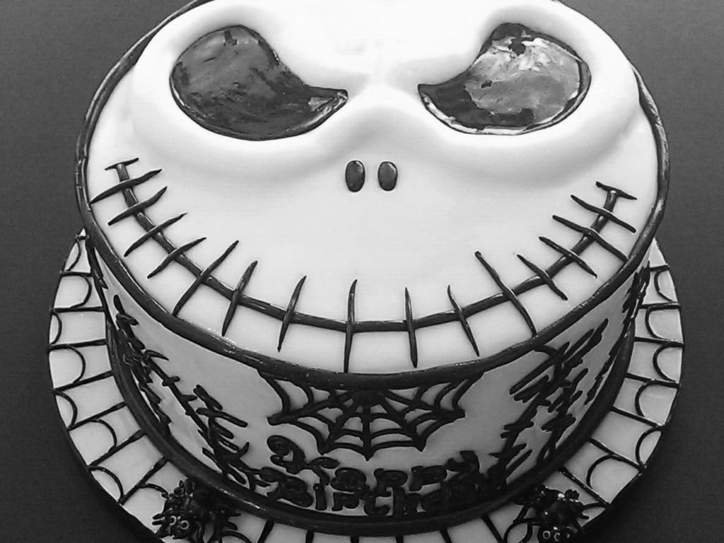 jack Skellington Birthday Cake Cupcakes CakeCentralcom