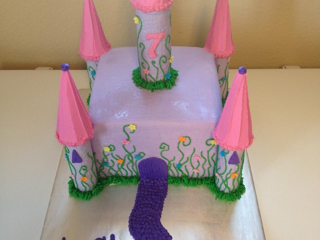 purple castle - cakecentral