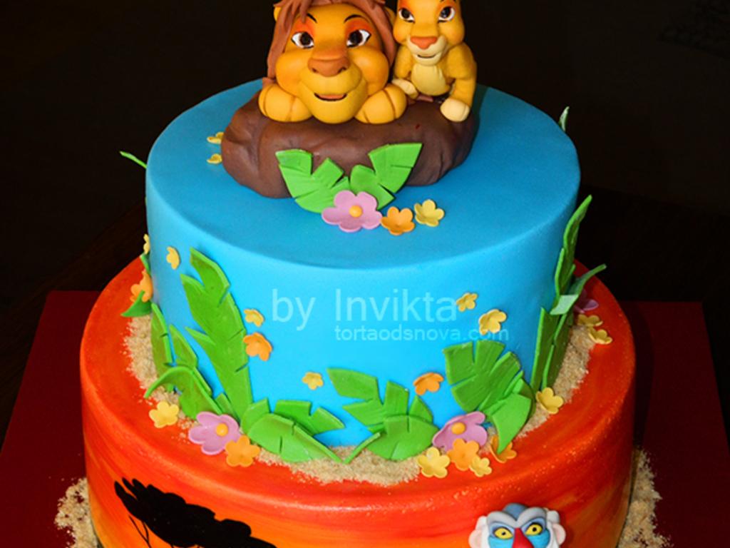 Lion King Cake Cakecentral Com
