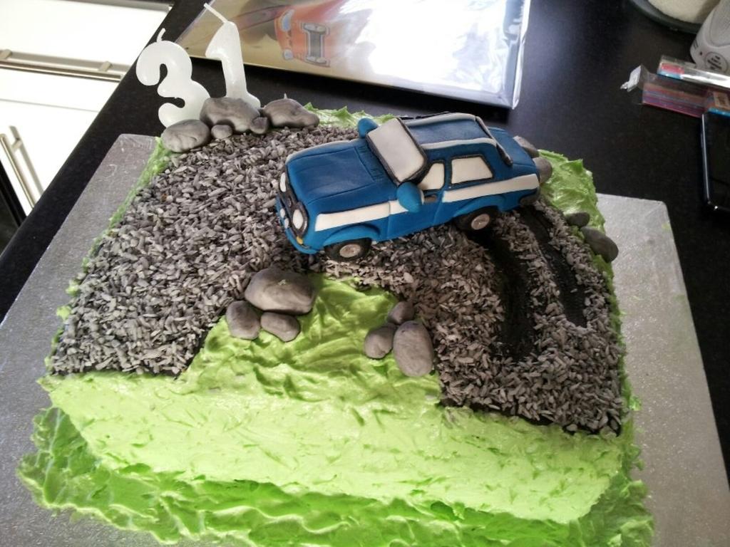Ford Escort Mk1 Car Birthday Cake CakeCentralcom