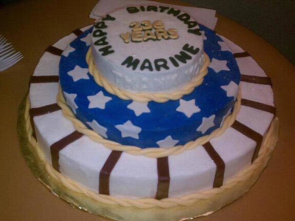 Marine Corps Birthday Cake Cakecentral