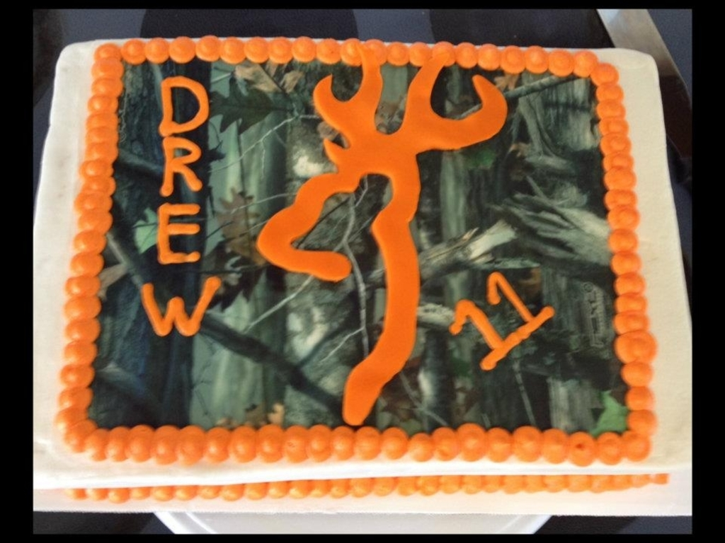 Orange Browning Cake