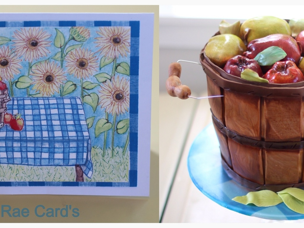 Inspiration Vs Perspiration Hand Painted Card Made By My Sister ...