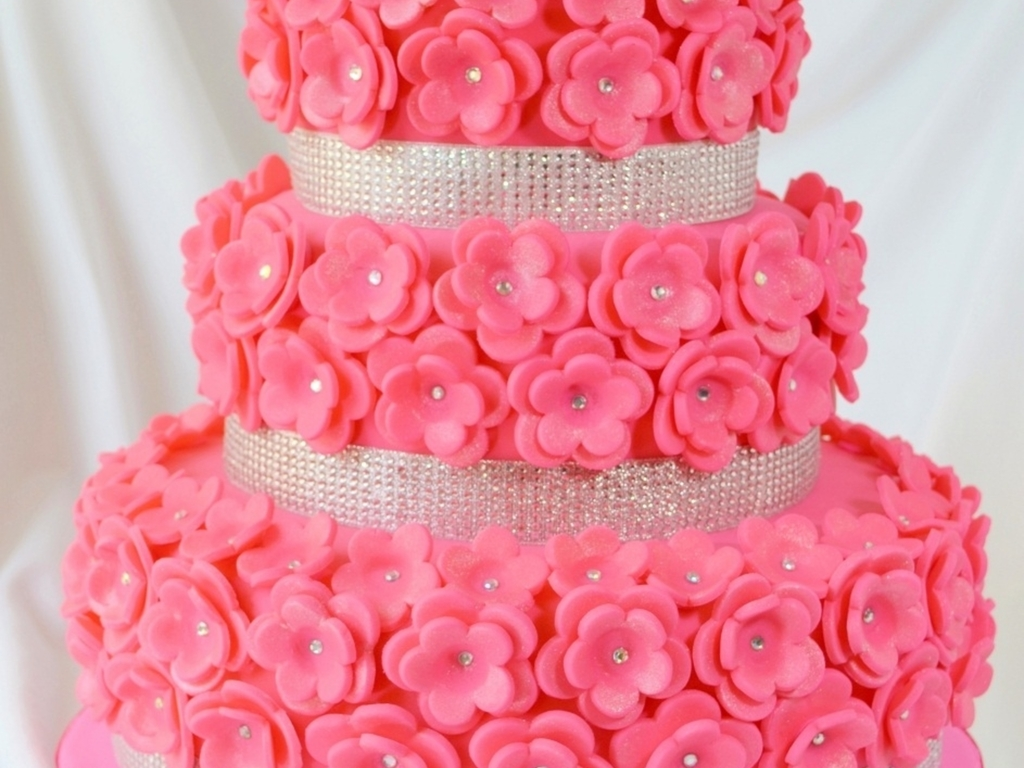 Bridal Shower Cake Pretty In Pink Cakecentral Com