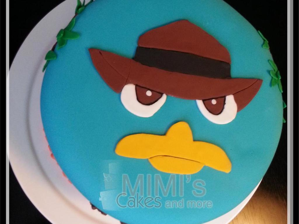 Perry The Platypus As A Baby Cake | www.imgkid.com - The ...