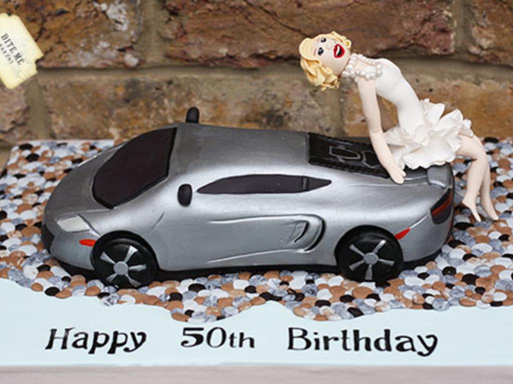 Mclaren Super Car Birthday Cake Cakecentral Com