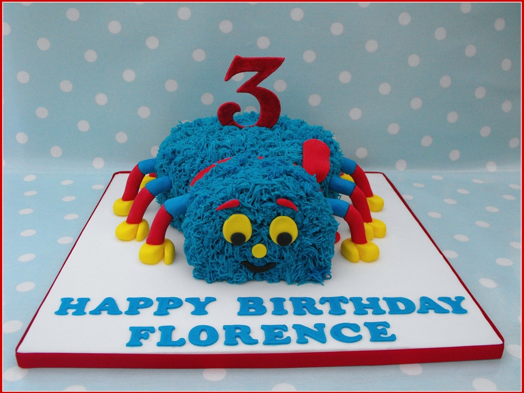Woolly The Spider CakeCentralcom