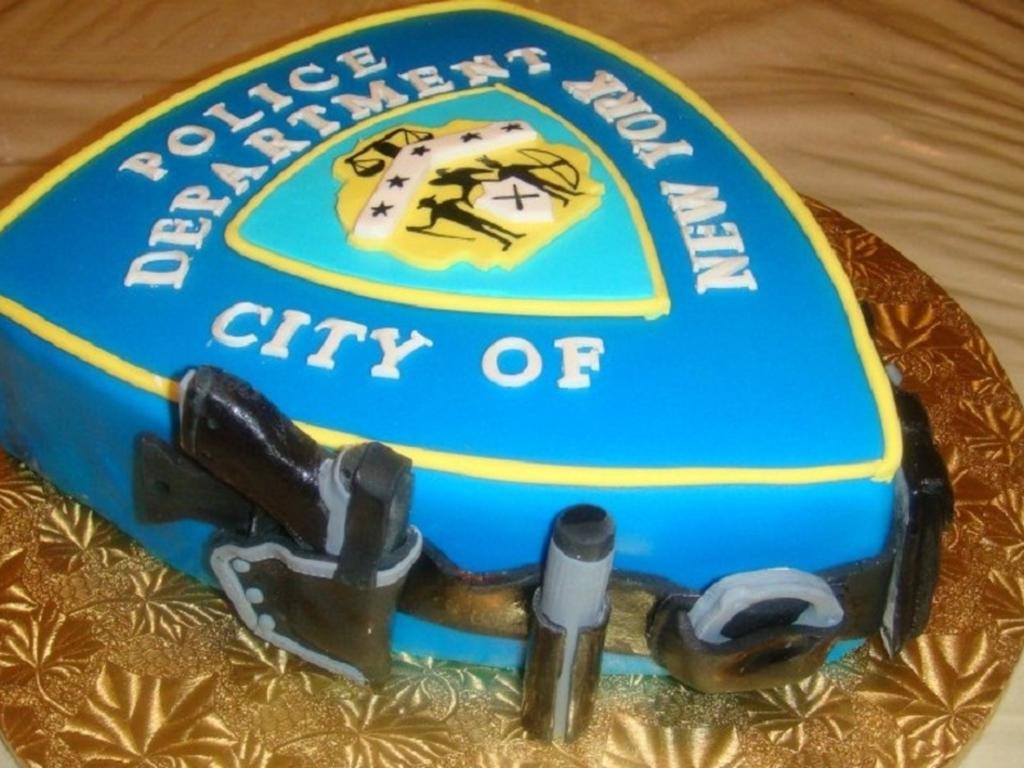City Of New York Police Department Custom Cake CakeCentralcom
