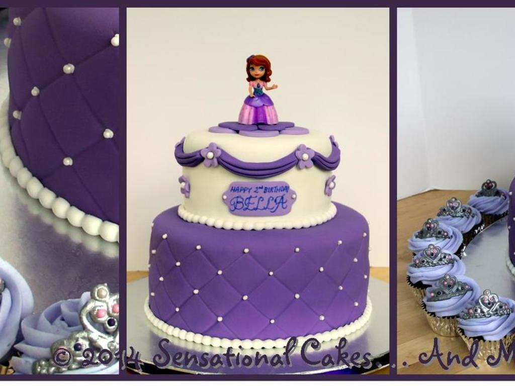 Groovy 100 Sofia The First Birthday Cake Ideas 25 Best Ideas About Personalised Birthday Cards Cominlily Jamesorg