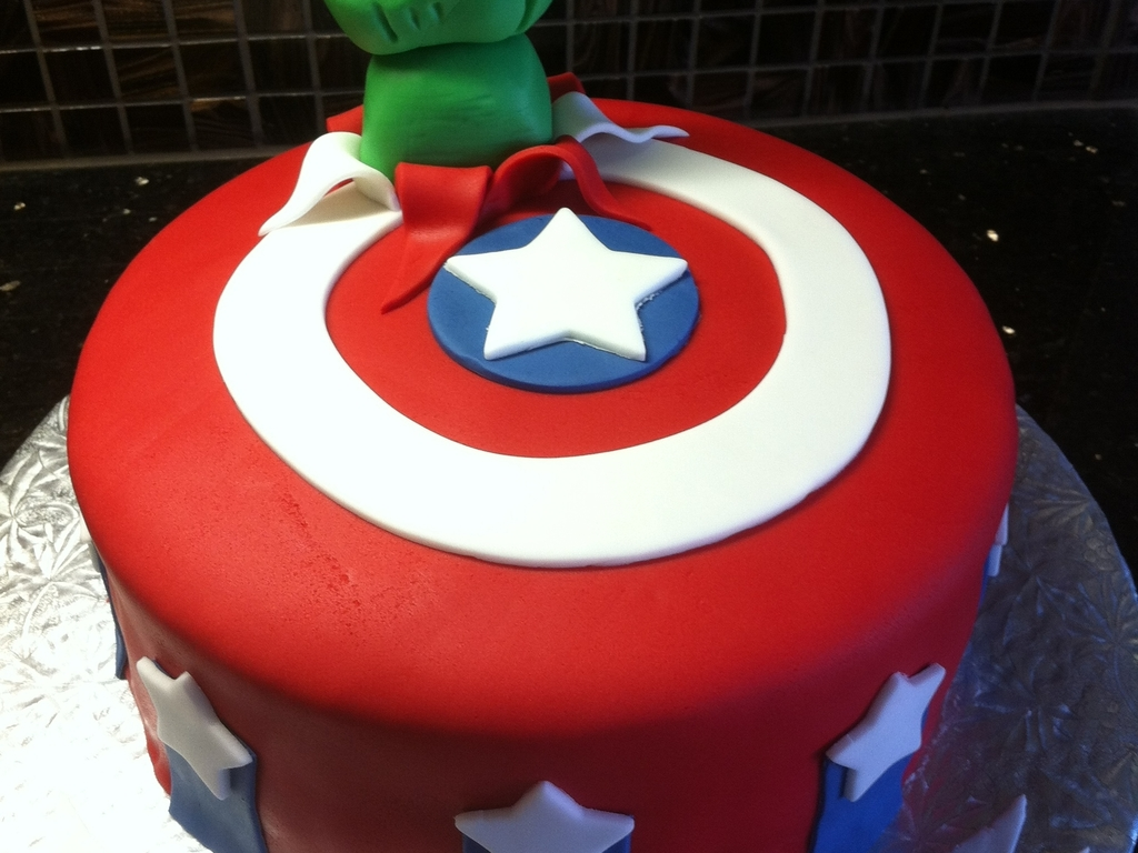 Avengers Birthday Cake  www.galleryhip.com - The Hippest Pics
