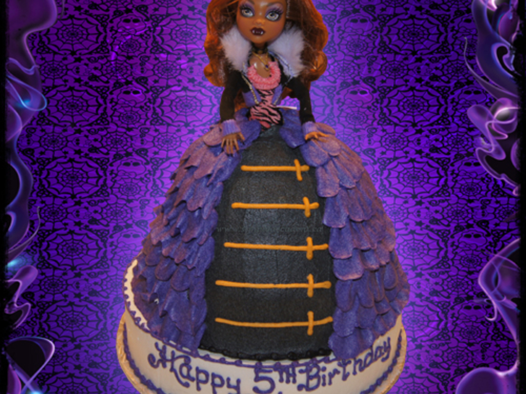 Incredible 3D Monster High Robecca Steam Doll Birthday Cake Cakecentral Com Personalised Birthday Cards Sponlily Jamesorg