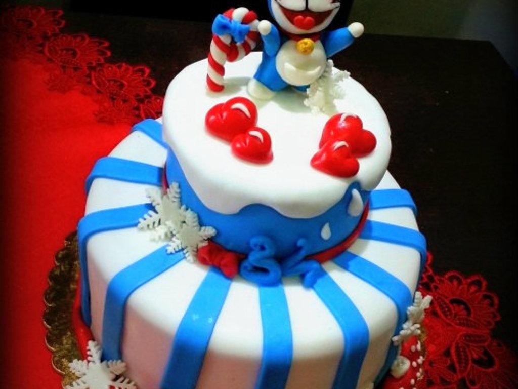 Doraemon 34Th Birthday CakeCentralcom