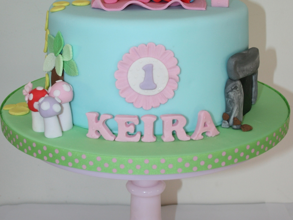Girly In The Night Garden - CakeCentral.com