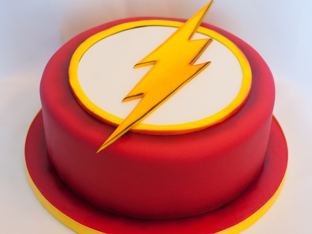 Flash Birthday Cake - CakeCentral.com