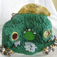 Freds 45Th Birthday Hobbit house from Lord of the rings for DH 45th Birthday !