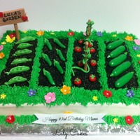 Gardening Cake For My Great Grandmother This Was So Much Fun To Make   Gardening cake for my great grandmother. This was so much fun to make!