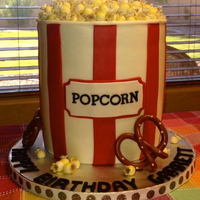 Popcorn Bucket Everything was done in MMF