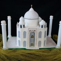 Taj Mahal - My Entry For The 2011 Let Them Eat Cake Event.