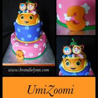Umi Zumi Fondant Iced With Fondant Accents Umi Zumi - Fondant iced with fondant accents