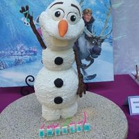 Frozen Olaf   For my grand daughters birthday.