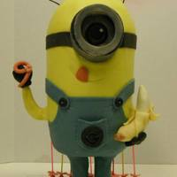 Standing Minion All chocolate.