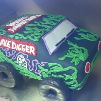 Monster Truck First 3d something..... usually customers ask for 2d..... but hey I was happy with it and so was the customer