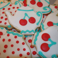 "Teapot Cookies I made these for my sister's ""Vintage Tea Party"" Bridal Shower!"