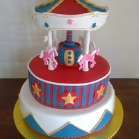 Circus Carousel A friend gave me a photo she had found and asked me to make the same carousel, with a circus theme. I had no idea until I just searched the...