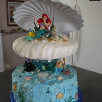 Happy Birthday, Britain..........   FUN to make Ariel cake........