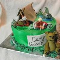 Camp Cake 100% Edible