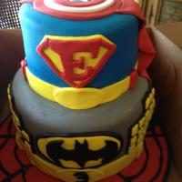 Super Hero Designed after client's sample photo from CC