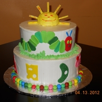 Hungry Caterpillar   For a first birthday