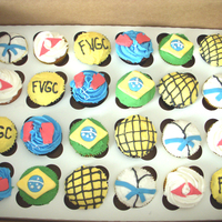 Grappling Club Open House Cupcakes I made these cupcakes for the Fox Valley Grappling Club (FVGC) open house. Cupcakes had boxing gloves, chain link fence, FVGC name,...