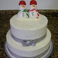 Together Forever christmas themed shower