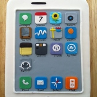Iphone Cake My first iphone cake.