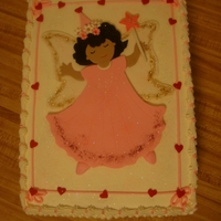 Princess fairy princess cake