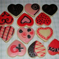 Valentine Cookies my first attempt at cookies
