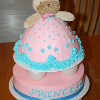 Princess Pink Baby This is a bear lovey put into a cake made with the Wilton wonder mold pan. My daughter has an old and very loved version of this lovey. She...