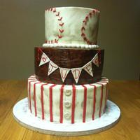 Vintage Baseball Baby Shower *