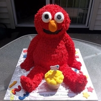 Elmo Buttercream