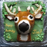 First Deer I was asked this week to make a deer cake.. I would have liked to have more time planning it all out.. The horns especially! Next time I...