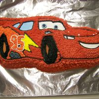 Lightning Mcqueen Cake Made for a birthday party