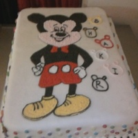 Chocolate Cake mockey mouse cake