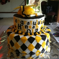 Graduation Cake For my cousin's high school graduation.
