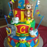 Circus Cake Made this cake for my friends sons 3rd birthday. It was a circus theme party. I was SO happy with how this cake came out! I used ideas from...