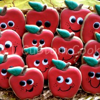 Back To School Back to school apples for teacher or student