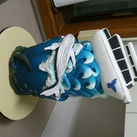 Nowra Show Cake - Ocean Theme This was a cake for a local show, it was inspired by Jervis Bay in NSW Australia where they have whale and dolphin watching and lots of...